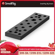 """SmallRig גבינת הרכבה צלחת שחרור מהיר צלחת ערכת עם 1/4 """"ו 3/8 השחלה חורים 904"""