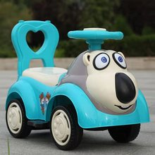 Children Twisting Car Yo-yo Help 1-3 Year Old Baby Sliding Four-wheeled Toy Car Music Can Sit on The Swing Car