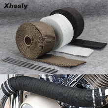 Motorcycle Exhaust Pipe Heat Shield Protection For YAMAHA Mt 125 Virago 400 Mt10 R6 2000 R15 Yz 250 Mt 10 Nmax 125 Ttr 250 R25