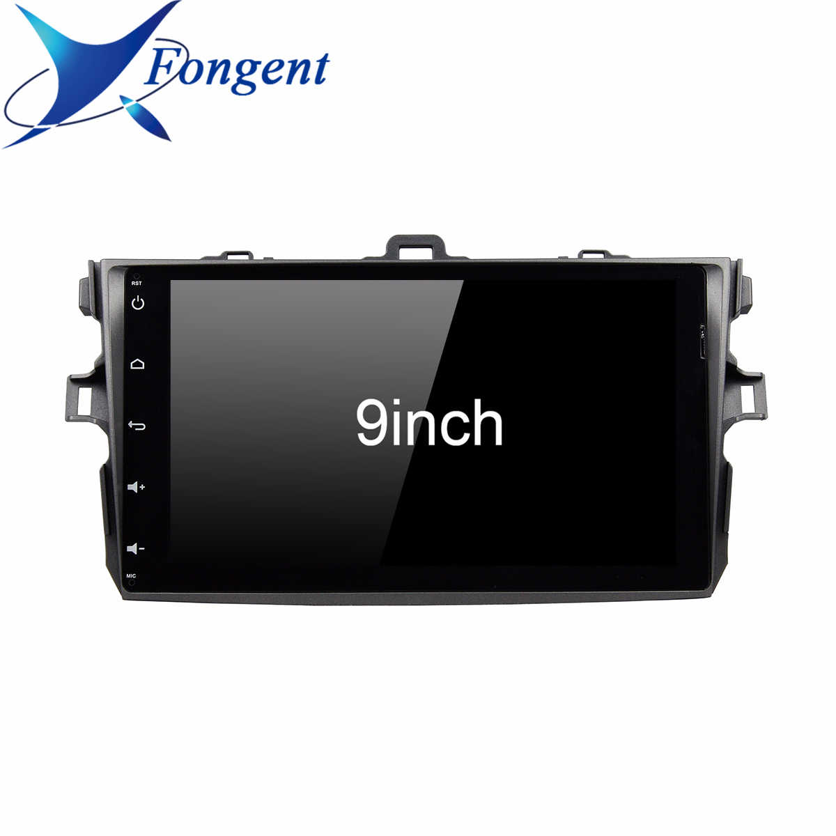 Voor Toyota Corolla E140/150 2008 2009 2010 2011 2012 2013 Auto Android 9.0 Radio Multimedia Speler Stereo Gps navigatie 2 Din Pc