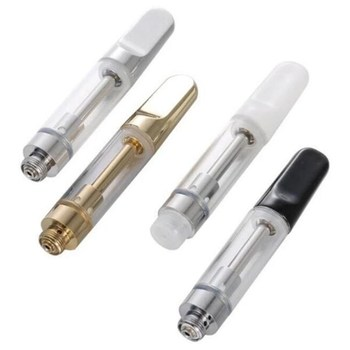 1pc CC-ELL tank Cartridges Ceramic coil cbd oil cartridge 1ml 0.5ml 510 Thread Thick Oil Dab Pen Wax Vaporizer Cart Atomizer image