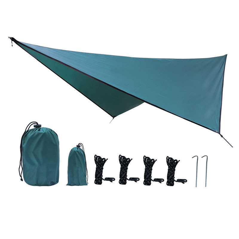 360*290cm Waterproof Beach Sunshade Hammock Picnic Tent Mat Outdoor Camping Awning|Sun Shelter| |  - title=
