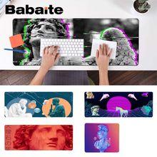 Babaite Vaporwave Art Давид ноутбук Игровые мыши коврик для мыши противоскользящие прочные силиконовые компьютерные коврики