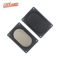 GHXAMP 2PCS 3 polegada 3.5 polegada Diafragma Vibrando Placa Retângulo de baixa freqüência de Graves Passivo radiador 103*69MM