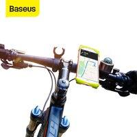 Baseus حامل هاتف الدراجة للخلية الذكية حامل هاتف المحمول دراجة المقود جبل قوس لتحديد المواقع حامل حامل هاتف دراجة