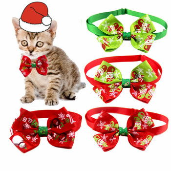 Happy New Year Navidad 2020 Christmas Decor Cat Dog Collar Bow Tie Christmas Ornaments Xmas Gift Kerst Decoratie Weihnachten image