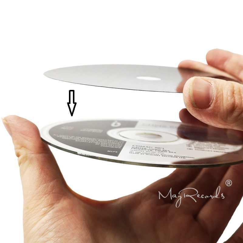 炭素繊維 CD テープディスクマットベースチューニングパッドハイファイオーディオターンテーブルの機械アンチショック衝撃吸収振動吸収