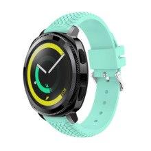 Yayuu 20/22mm Universal Silicone Wheel pattern Strap Compatible For Samsung Gear S2 Sport/Garmin Vivomove HR Smartwatch