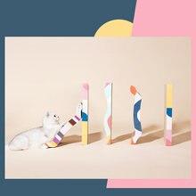 Гофрированная бумага кошачья Когтеточка много стилей игрушка