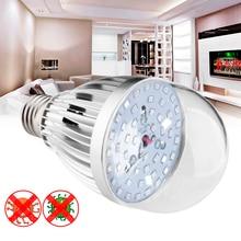 E24 Ultraviolet UV Germicidal Lamp Violet Light Bulb Fluorescent Detection 85-265v Violet Bedroom Hotel Sterilization Lamp 7W