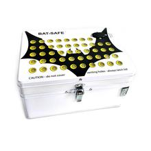 BAT-SAFE Double Walled Steel Box Safety Battery Protection Case For Li Batteries