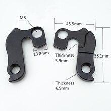 цена на 10pcs mtb bicycle Rear Derailleur Hanger cycle Gear hanger Dropouts for SCOTT Aspect Contessa 29 Elite SCOTT Contessa E-Aspect