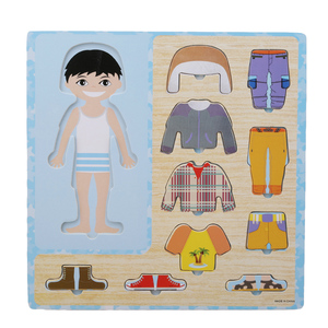 Baby Clothing Matching Puzzle