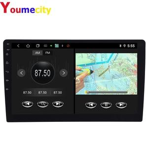 """Image 5 - Ośmiordzeniowe/10.1 """"Android 9.0 samochodowe Multimedia odtwarzacz wideo Dvd z kranu Tablet nawigacja GPS Radio Stereo Bluetooth Wifi uniwersalny"""