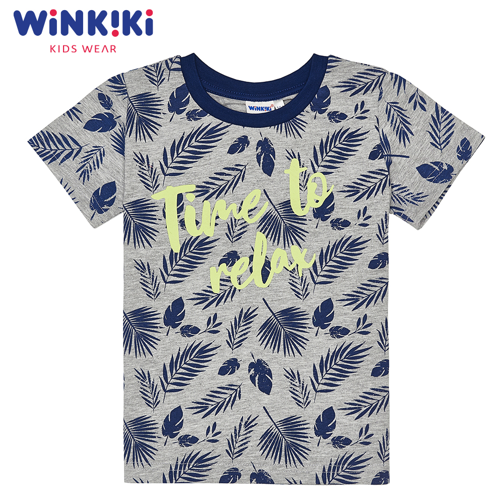 T-Shirts WINKIKI WKB91334 children clothing t-shirt t-short for boys and girls top tunic Cotton  Boys pants kotmarkot 80100 children clothing for girls kid clothes
