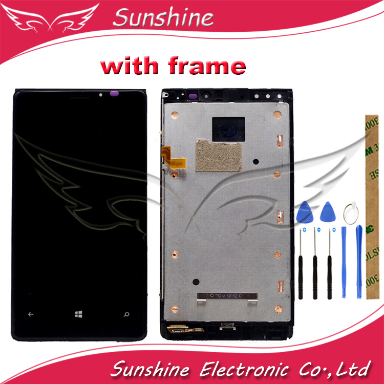 Good LCD For Nokia <font><b>Lumia</b></font> 920 RM-822 RM-821 RM-<font><b>820</b></font> LCD Display With Touch <font><b>Screen</b></font> Sensor Assembly image