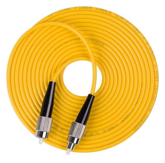 10pcs FC-FC UPC Duplex Fiber Optic Patch Cord Single Mode Fibre Patch Lead FC UPC Optical Fiber Jumper 3m