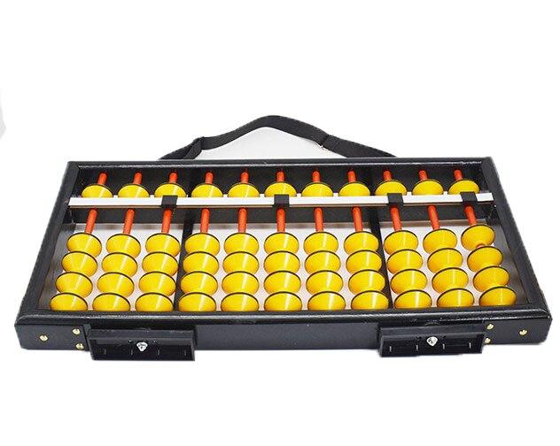 Haute qualité 11 colonne bois suspendu Abacus antidérapant grande taille chinois soroban outil en mathématiques éducation pour enseignant XM03 - 2
