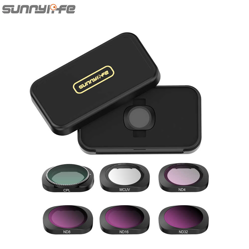 Sunnylife MCUV CPL ND4//8//16//32 Camera Lens Filter for FIMI Palm Gimbal Camera