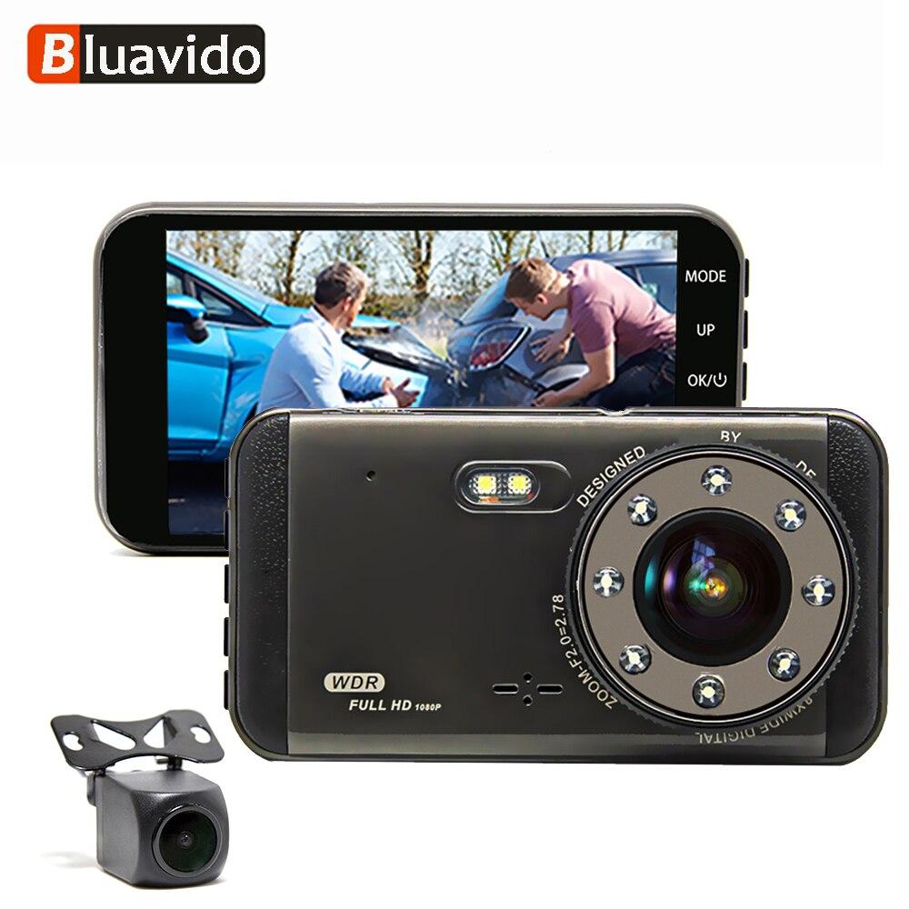 Bluavido Car DVR Camera Dashcam 1296P ADAS Video-Recorder G-Sensor Night-Vision IMX323