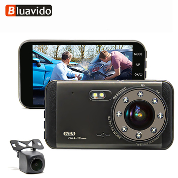 Bluavido Full HD 1296P Car DVR Camera IMX323 WDR Night Vision ADAS Dashcam 170 degree 1080P Video Recorder G-Sensor Loop Record