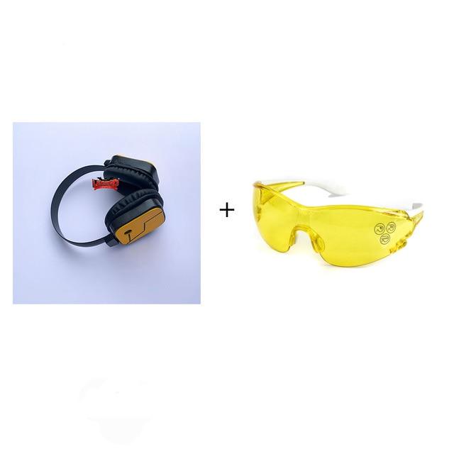 My Hero Academia Hawks Hokusu Cosplay Headset Wing Hero New version Earphone Glasses Props Accessory