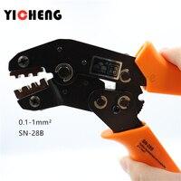 SN-28B/SN-48B Orange / blue European bare terminal crimping pliers crimping tools 2.8mm 4.8mm plug spring SN28/SN48B