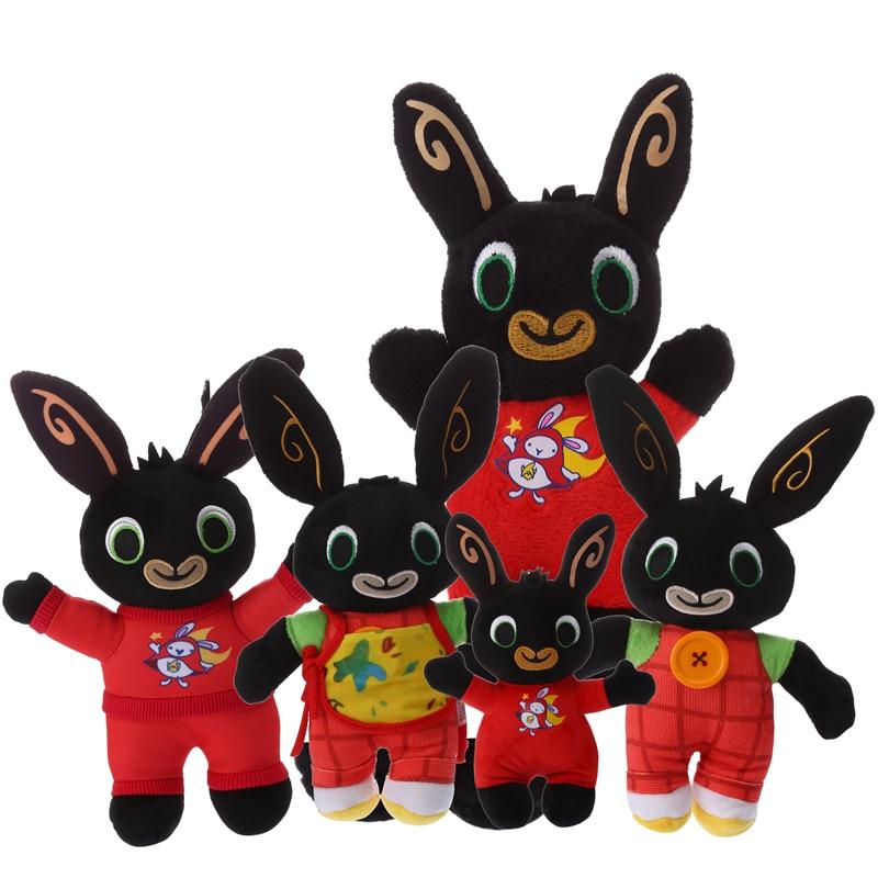 Bing Bunny Plush Toy Sula Flop Hoppity Voosh Bing Coco Animal Friend Stuffed Doll Peluche Toys Children Birthday Christmas Gifts