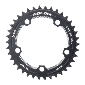 110BCD Road Bike Narrow Wide Chainring 38T Bike Chainwheel for Shimano Sram Bicycle Crank Accessories image