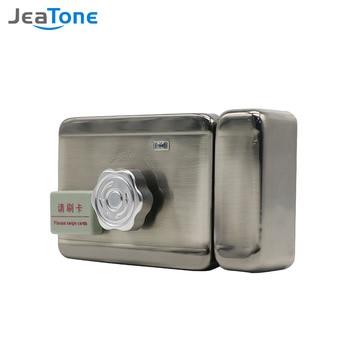 Jeatone Electronic Door Lock for Video Intercom Support Video Door Phone Remote Unlock Home Door Access Control Security System цена 2017