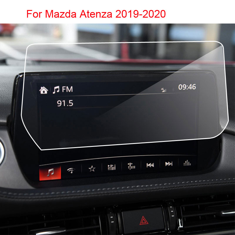 Car Navigation Tempered Glass Screen Protective Film For Mazda 6 Atenza GJ GL 2019 2020 Year