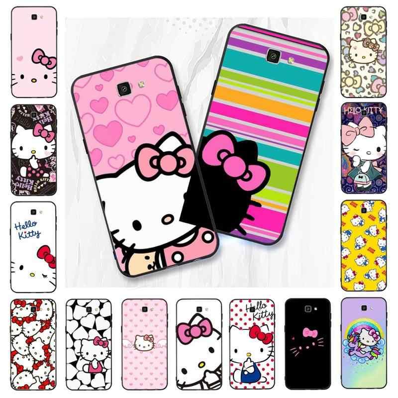 Babaite Cute Hello Kitty Black Soft Shell Phone Case Capa For Samsung Galaxy J7 J6 J8 J4 J4plus J7 Duo J7neo J2 J5 Prime Aliexpress