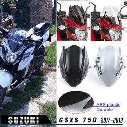 Motocykla Touring wyścigi GSXS 750 ekran szyby przedniej szyby z uchwyt montażowy dla 2017-2019 Suzuki GSX-S 750 17 18 19