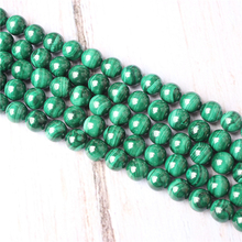 Malachite Natural Stone Beads For Jewelry Making Diy Bracelet Necklace 4/6/8/10/12 mm Wholesale Strand