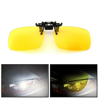 Car Driving Night Vision Lens Sunglasses Clip For BMW m3 m5 e46 e39 e36 e90 e60 f30 e30 e34 f10 e53 f20 e87 x3 x5 image