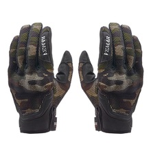 Outdoor Cycling Gloves Full Finger Breathable Anti-slip Touch Screen For Motorcycle Riding Protective Equipmen