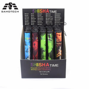 Vape-Pen-Kit Vaporizer-Pod Hookah Shisha-Time Mixed-Fruits-Flavor E-Cigarette 500puffs