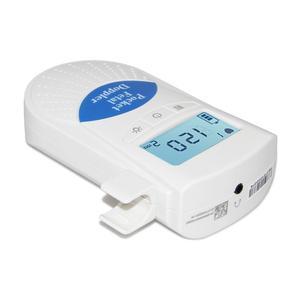 Image 4 - جهاز مراقبة دوبلر الجنين محمول جهاز مراقبة نبضات قلب الطفل للاستخدام المنزلي جهاز كشف الموجات فوق الصوتية للجنين قبل الولادة صوت الطفل