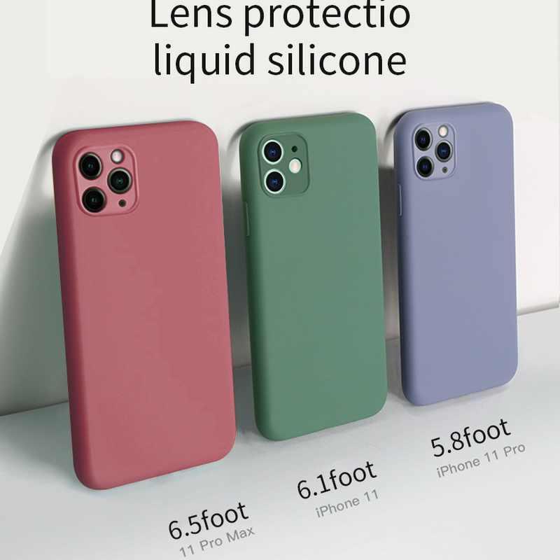 Tipis Lembut Case untuk Huawei P20 P30 P40 Pro Lite Cair Asli Silicone Cover Permen Coque Capa: APP Kehormatan 8 8X 8S 9 9X 10