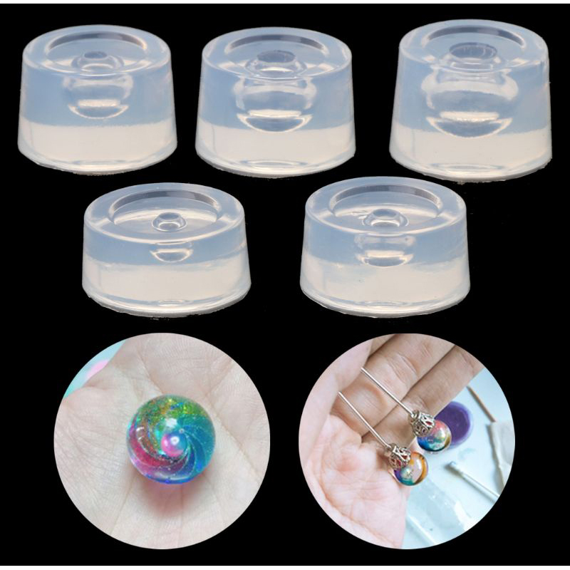 Transparent Silicone Mould Universe Ball Epoxy UV Resin Molds For Jewelry Making Tools DIY Accessories