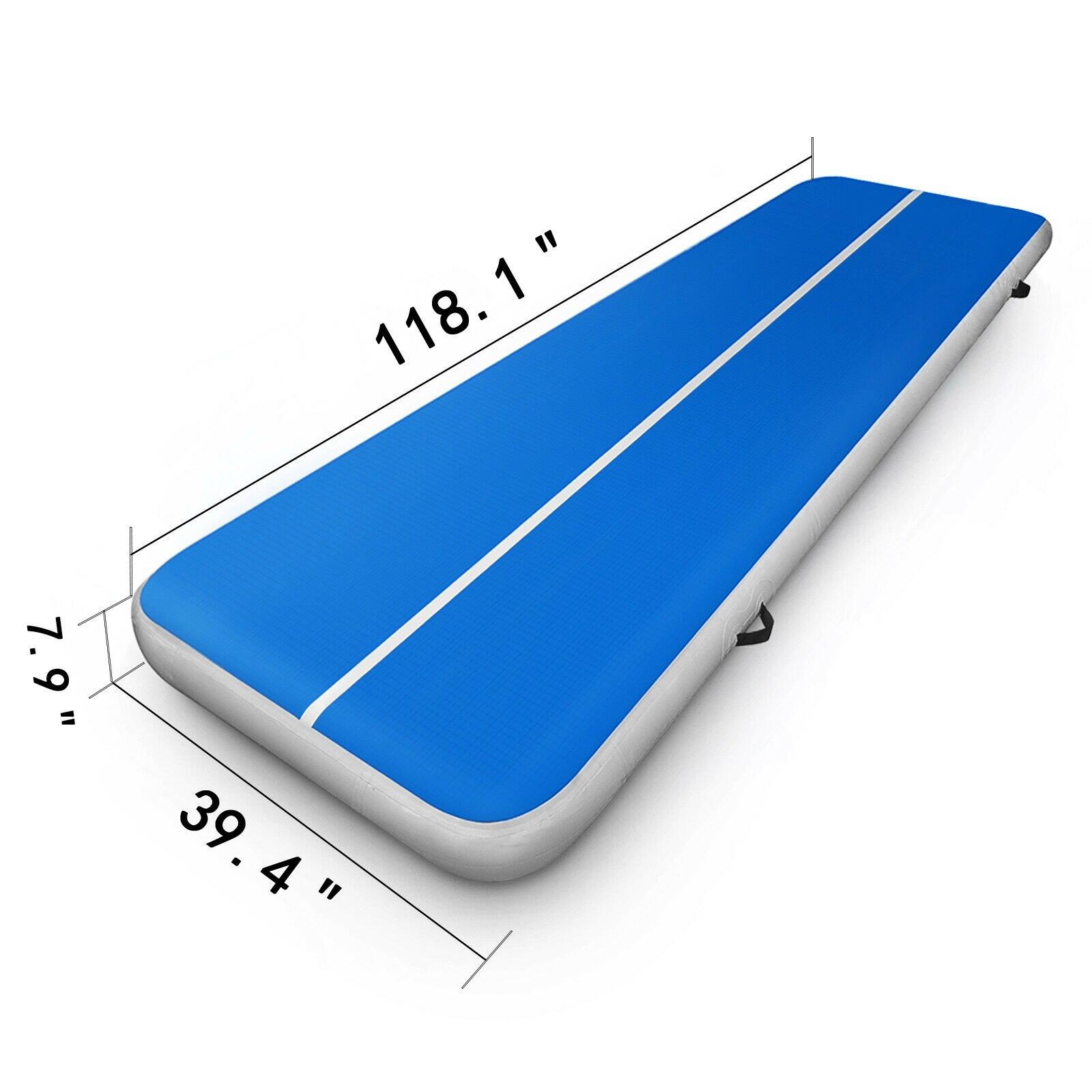 3 X10Ft  1x3M  Air Track Floor Home Gymnastics Tumbling Mat Inflatable Air Tumbling Track GYM