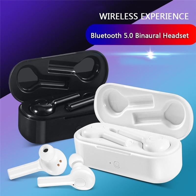TW08 Bluetooth Earbuds 5.0 TWS Wireless Headsets Mini Earphones HiFi Sound Sport Waterproof HD MIC Handsfree for All Phone