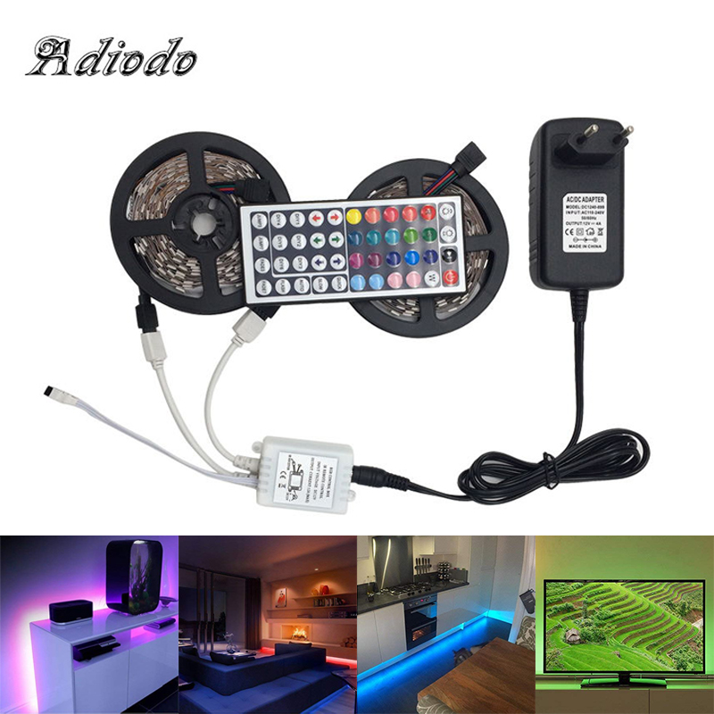12V  RGBW RGBWW 5050 SMD Waterproof RGB Led Light For Auto Car Or Christmas Led Lighting Strip Decor Indoor/Outdoor Party 5m 10m