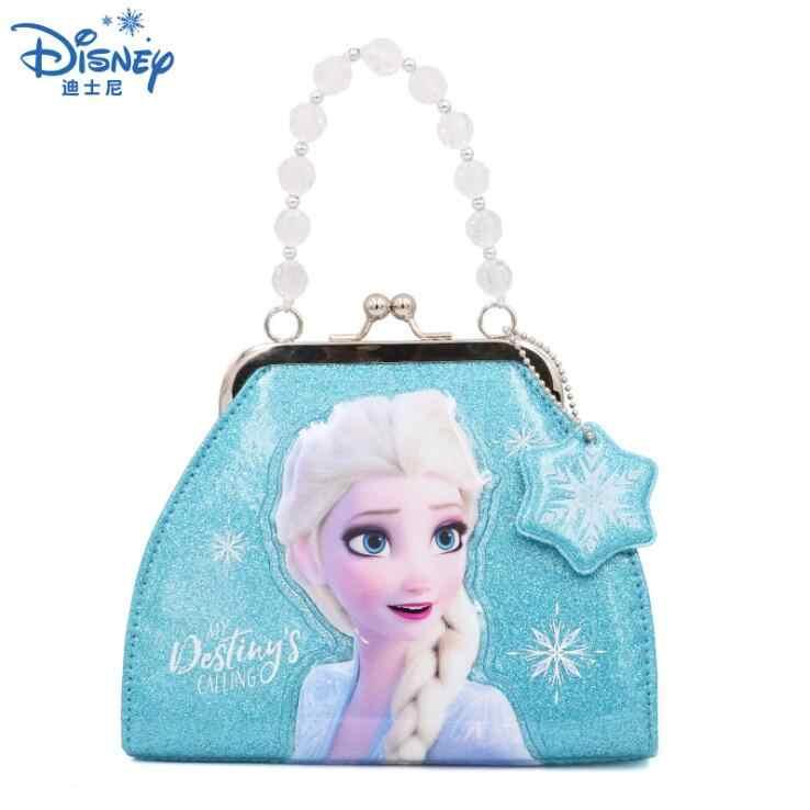 2020 novo genuíno disney congelado 2 dos desenhos animados meninas colorido saco elsa anna bolsa crianças brinquedo crianças aniversário presente de natal boneca