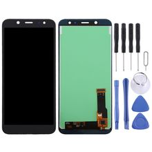 TFT Material LCD Screen and Digitizer Full Assembly for Galaxy A6 (2018) A600F LCD Display Mobile Phone Replacement Parts