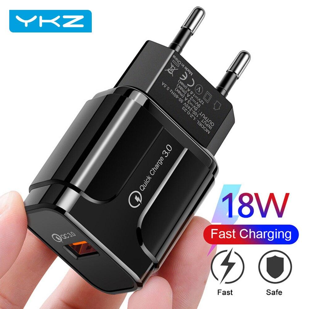 USB зарядное устройство Quick Charge 3,0 4,0 QC3.0, быстрая зарядка, мобильный телефон зарядное устройство для iPhone 12, Samsung, Xiaomi, Huawei, планшеты стены крепле...