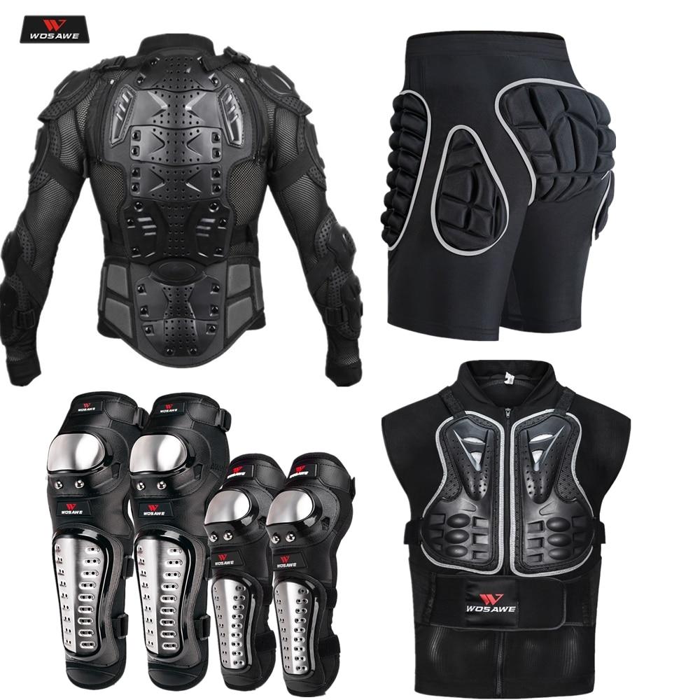WOSAWE Спортивная броня для мотокросса для мужчин с сетчатым рукавом, мотоциклетная ветровка, защита для спины, защитное снаряжение, защита дл...