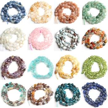 5-7mm Natural Irregular Agates Amazonite Jades Quartzs Jaspers Stone Beads Loose Bead For Jewelry Making Diy Bracelet Accessorie