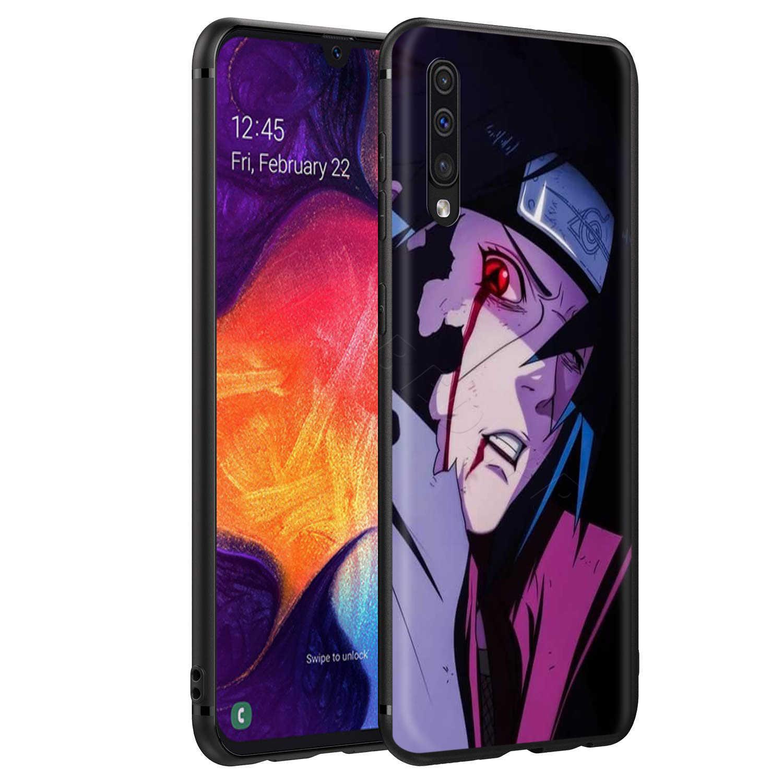 Webbedepp Dor Naruto Case para Samsung Galaxy S7 S8 S9 S10 Plus Nota Borda 10 8 9 A10 A20 A30 a40 A50 A60 A70