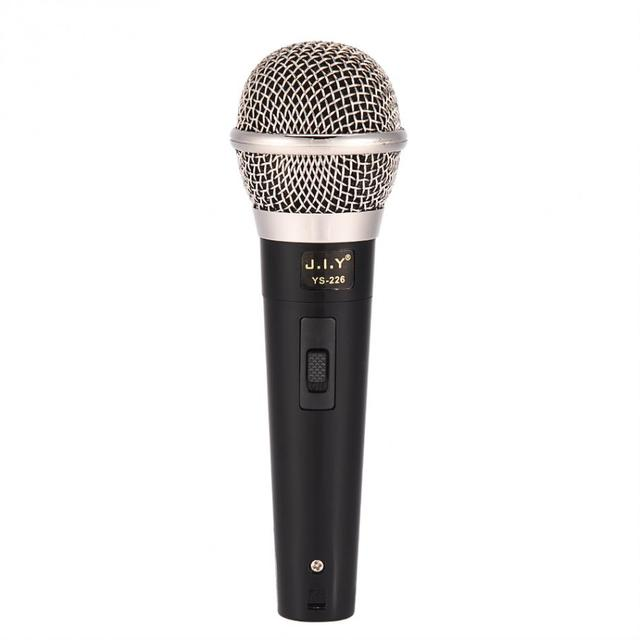 El profesyonel kablolu dinamik mikrofon net ses Karaoke vokal müzik performansı şarkı şarkı eğlenceli
